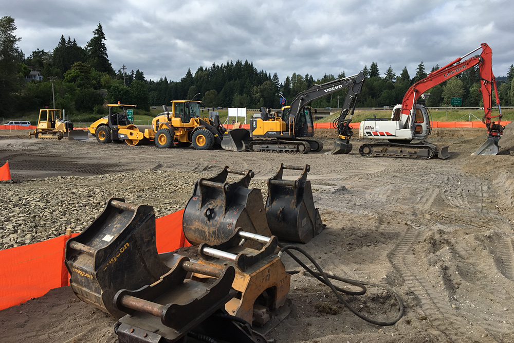 Excavating in Oregon and Washington